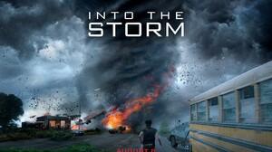 Into The Storm Fire Destruction Tornado Storm 1920x1200 Wallpaper