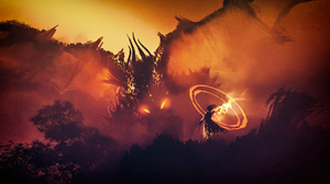 Dragon Wizard 3840x2160 wallpaper