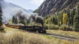 Locomotive Train Vehicle 3000x2000 Wallpaper