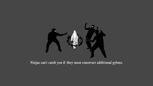 Humor Ninja 1280x1024 Wallpaper
