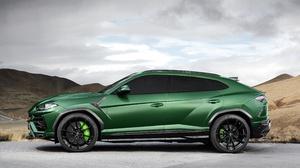 Lamborghini Car Green Car Suv Luxury Car 4096x2730 Wallpaper