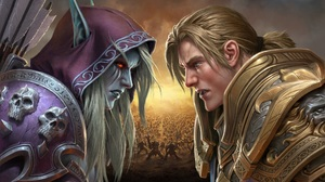 Digital Art Artwork Video Games Warcraft World Of Warcraft World Of Warcraft Battle For Azeroth Sylv 1900x1080 Wallpaper