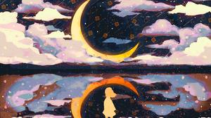 Artistic Moon 3508x2480 Wallpaper