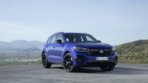 Blue Car Car Luxury Car Suv Vehicle Volkswagen Volkswagen Touareg Volkswagen Touareg R Line 3000x2000 Wallpaper