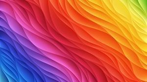 Artistic Colorful Colors Digital Art Rainbow 4951x3030 Wallpaper