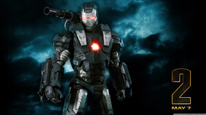 Movie Iron Man 2 1366x768 Wallpaper