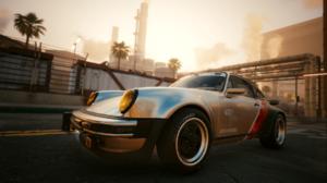 Cyberpunk 2077 Cyberpunk Porsche 911 Porsche Video Games Car 1920x1080 Wallpaper