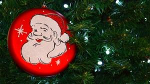 Christmas Christmas Lights Christmas Ornaments Christmas Tree Light Santa 1920x1080 Wallpaper