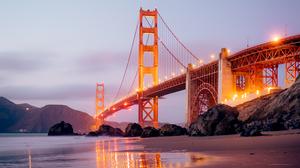 Bridge Golden Gate San Francisco 5120x2880 Wallpaper