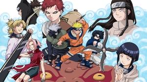 Hinata Hy Ga Sasuke Uchiha Sakura Haruno Kakashi Hatake Temari Naruto Kankur Naruto Neji Hy Ga Gaara 2560x1600 Wallpaper