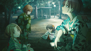 Anime Girls THE IDOLM STER Higuchi Madoka Toru Asakura Koito Fukumaru Ichikawa Hinana Tomari Japanes 2272x1280 wallpaper