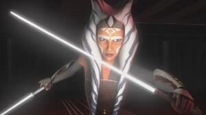 Ahsoka Tano Star Wars Rebels Lightsaber Jedi 1920x1080 Wallpaper