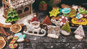 Christmas Cookie Gingerbread 2048x1365 Wallpaper