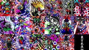 Alice Margatroid Eirin Yagokoro Fujiwara No Mokou Kaguya Houraisan Keine Kamishirasawa Marisa Kirisa 2695x1648 Wallpaper