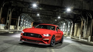 Car Ford Ford Mustang Ford Mustang Gt Muscle Car Red Car Vehicle 3840x2160 Wallpaper
