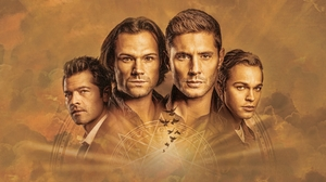 Alexander Calvert Castiel Supernatural Dean Winchester Jack Kline Jared Padalecki Jensen Ackles Mish 3840x2160 Wallpaper