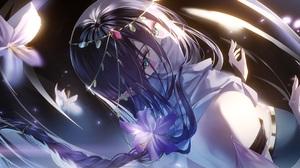 Anime Anime Girls Dota 2 Dota Lanaya Templar Assassin 3500x1587 wallpaper