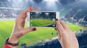 Samsung Phone Hand Soccer 4288x2848 wallpaper