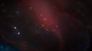 Starkiteckt Space Nebula Red Universe Stars 5120x2880 Wallpaper