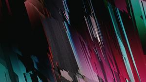 Glitch Art Abstract 3D Abstract Cinema 4D 2160x3840 Wallpaper