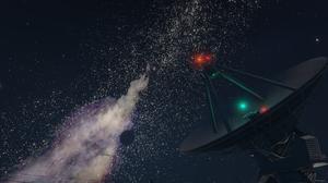 Grand Theft Auto V Night Sky Milky Way Satelites Space 3840x2160 wallpaper