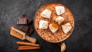 Chocolate Marshmallow Drink Cinnamon 5616x3744 Wallpaper