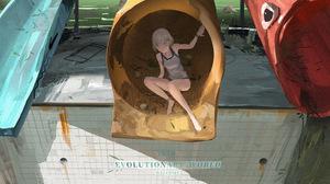 Anime Girl 5000x2813 wallpaper