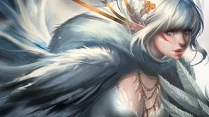 Sakimichan Princes Mononoke Fantasy Girl DeviantArt 1920x1200 Wallpaper