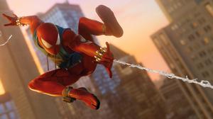 Spider Man Scarlet Spider Marvel Comics Superhero Peter Parker 3840x1812 Wallpaper