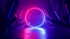 Cyberpunk Neon 3200x1800 Wallpaper