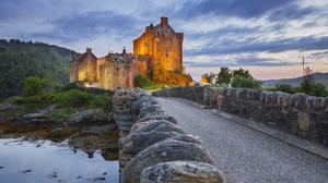 Castle Eilean Donan Castle Scotland 2000x1333 wallpaper