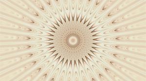 Artistic Brown Digital Art Kaleidoscope Pattern 2560x1600 Wallpaper