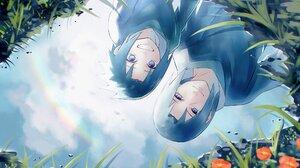 Black Hair Boy Itachi Uchiha Rainbow Reflection Sasuke Uchiha Smile Water 2000x1406 Wallpaper