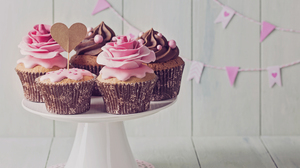 Cupcake Pastry Still Life 4200x3050 Wallpaper