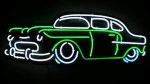Car Classic Car Neon Neon Sign Sign Vehicle 1600x1200 Wallpaper