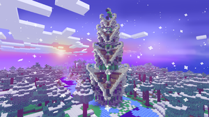 Minecraft Video Games PC Gaming Christmas Games Posters Screen Shot 2560x1440 Wallpaper