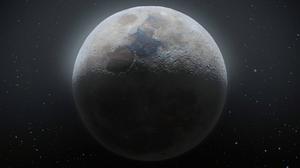 Moon Stars Space Satellite 3840x2160 Wallpaper