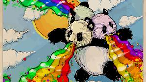 Humor Panda 1920x1200 Wallpaper