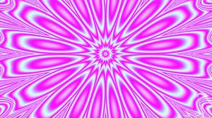 Abstract Artistic Digital Art Kaleidoscope Pattern Pink 1920x1080 Wallpaper