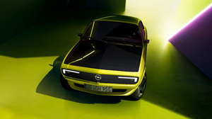Opel Opel Manta Green Cars Car Vehicle Electric Car High Angle 5120x2880 Wallpaper