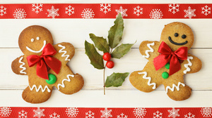 Christmas Cookie Gingerbread Holy 5443x3582 Wallpaper