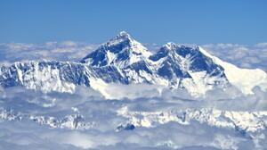 Mount Everest China Snowy Peak Landscape Takayama Clouds 2848x1900 wallpaper