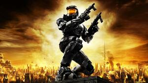 Xbox Game Studios Halo Science Fiction Video Games Video Game Art 3840x2160 Wallpaper
