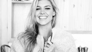 Actress American Black Amp White Kelly Rohrbach Smile 5760x3840 Wallpaper