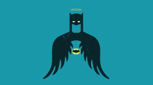 Batman Dc Comics Minimalist 3840x2160 wallpaper