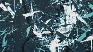 Glitch Art Abstract 2500x1406 Wallpaper