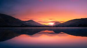 Nature Landscape Sunset Scotland 6000x4000 wallpaper
