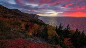 Nature Sunset Horizon Ocean Cloud 2000x1299 Wallpaper