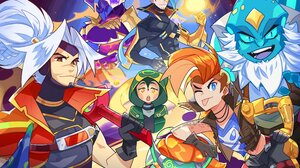 League Of Legends Riot Games Video Game Characters Yasuo League Of Legends Jinx League Of Legends So 4000x2826 Wallpaper
