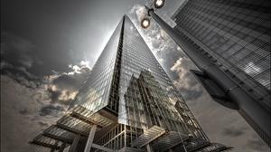 London City England UK Worms Eye View Building 3840x2160 Wallpaper